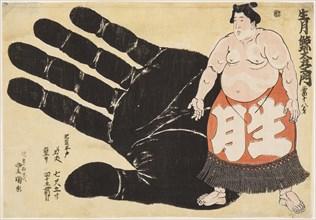 Sumo Wrestler Ikuzuki Geitazaemon, 1844.