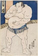 Sumo Wrestler Itadaki, 1843.