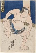 Sumo Wrestler Koyanagi, c. 1830.