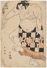 Sumo Wrestler Takenyama, 1790s.