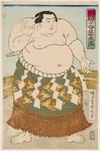 Sumo Wrestler Umgatani, 1875.