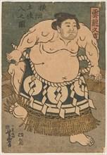 Sumo Wrestler Unryu Kyukichi (Unryu Hisakichi), 1830s.