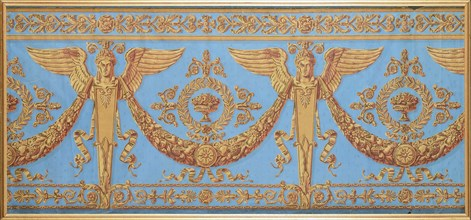 Wallpaper Frieze from the Consulate period, c. 1800.