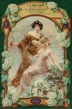 A La Dame Blanche. Fabrique de Lingerie, c. 1900.