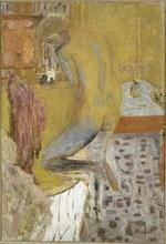 Nu de dos à la toilette (Nu jaune), 1934.