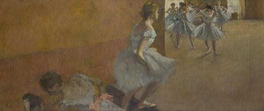 Danseuses montant un escalier, 1886-1890.