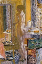 Nude in front of a mirror, 1931.