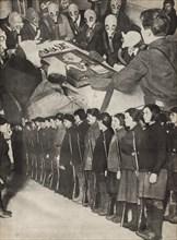 Osoaviakhim. Illustration from USSR Builds Socialism, 1933. Creator: Lissitzky, El (1890-1941).