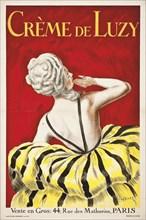 Cappiello, affiche pour la crème de Luzy, 1919