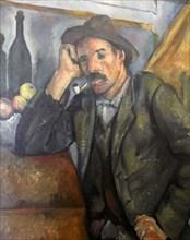 'Smoker', c1890-c1892. Artist: Paul Cezanne