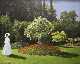 'Lady in the Garden', 1867. Artist: Claude Monet