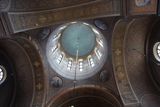 Interior of the dome, Uspenski Cathedral, Helsinki, Finland, 2011. Artist: Sheldon Marshall
