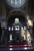Interior, Uspenski Cathedral, Helsinki, Finland, 2011. Artist: Sheldon Marshall