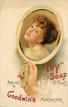 Ivy soap, 1900. Artist: Unknown