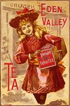 Eden Valley Tea, 19th century. Artist: Unknown