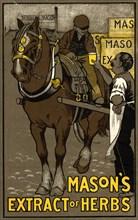 Mason?s Extract of Herbs, 1910. Artist: Unknown