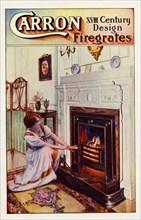 Carron firegrates, 1915. Artist: Unknown