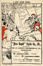 New Rapid Cycle Co, 19th century. Artist: Unknown