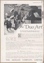 Aeolian Company Pianolas, 1923. Artist: Wilfred Fryer
