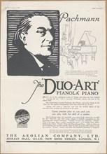 Aeolian Company Pianolas, 1924. Artist: Wilfred Fryer