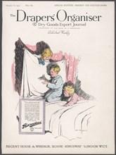 Draper's Organiser Magazine, 1921. Artist: Wilfred Fryer