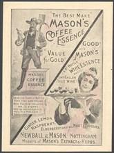 Newball & Mason Coffee Essence, 1890s. Artist: Unknown
