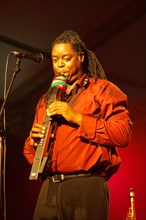 Courtney Pine, Brecon Jazz Festival, Powys, Wales, 2006. Artist: Brian O'Connor