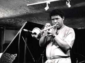 Eddie Henderson, Bass Clef, 1990. Artist: Brian O'Connor