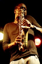 Soweto Kinch, Imperial Wharf Jazz Festival, London, 2011. Artist: Brian O'Connor