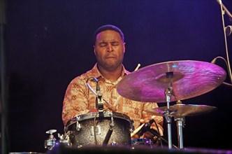 Kendrick Scott, Love Supreme Jazz Festival, Glynde, East Sussex, 2013. Artist: Brian O'Connor