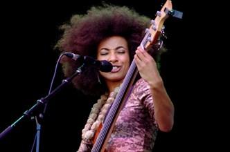 Esperanza Spalding, Love Supreme Jazz Festival, Glynde, East Sussex, 2013.  Artist: Brian O'Connor