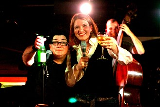 Clare Teal and Lea DeLaria, Pizza Express, London, 2004.  Artist: Brian O'Connor