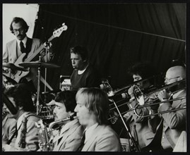 Buddy Rich in concert at the Newport Jazz Festival, Ayresome Park, Middlesbrough, 1978. Artist: Denis Williams
