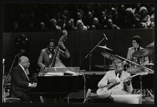 The Count Basie Orchestra in concert at the Royal Festival Hall, London, 18 July 1980. Artist: Denis Williams