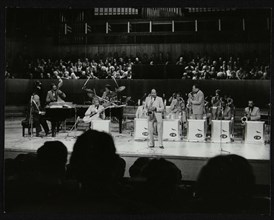 The Count Basie Orchestra performing at the Royal Festival Hall, London, 18 July 1980. Artist: Denis Williams