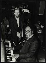 Roland Hanna and Peter Ind, 1980. Artist: Denis Williams