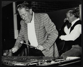 Bill Le Sage and Tony Archer performing at The Fairway, Welwyn Garden City, Hertfordshire, 1993. Artist: Denis Williams