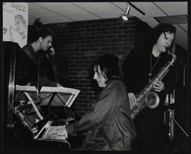 The Kate Williams Quartet playing at The Fairway, Welwyn Garden City, Hertfordshire, 20 April 2003. Artist: Denis Williams
