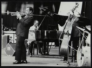 The Jonah Jones Quartet and Hank Jones, Newport Jazz Festival, Ayresome Park, Middlesbrough, 1978. Artist: Denis Williams