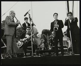 Jazz at Knebworth, Hertfordshire, 1982. Artist: Denis Williams