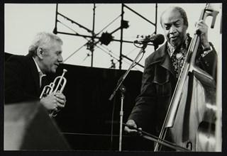 Ruby Braff and Slam Stewart on stage at the Capital Radio Jazz Festival, London, 1979. Artist: Denis Williams