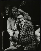 Tal Farlow (guitar) and Peter Ind (double bass), Wallingford, Oxfordshire, 1981. Artist: Denis Williams