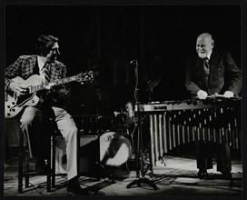 Tal Farlow (guitar) and Red Norvo (vibraphone), performing at Wallingford, Oxfordshire, 1981. Artist: Denis Williams