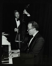 Len Skeat (bass) and Bobby Tucker (piano) playing at the Forum Theatre, Hatfield, Hertfordshire, 12  Artist: Denis Williams