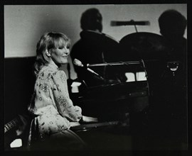 Petula Clark in concert at the Forum Theatre, Hatfield, Hertfordshire, 28 January 1984. Artist: Denis Williams