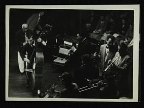 Jazz concert at Colston Hall, Bristol, 1956. Artist: Denis Williams