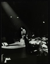 Frank Sinatra and Frank Sinatra Jr in concert at the Royal Albert Hall, London, 28 May 1992. Artist: Denis Williams
