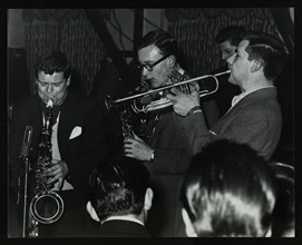 The Tubby Hayes Sextet playing at a modern jazz night at the Civic Restaurant, Bristol, 1955. Tubby  Artist: Denis Williams