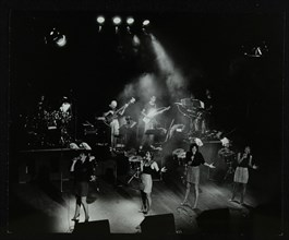 The Nolans in concert at the Forum Theatre, Hatfield, Hertfordshire, 23 January 1986. Artist: Denis Williams