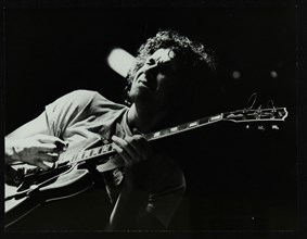 Guitarist John Etheridge playing at The Stables, Wavendon, Buckinghamshire. Artist: Denis Williams